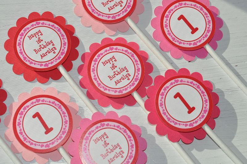 10 Birthday Cupcakes For Valentine S Day Photo Valentine S