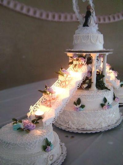 7 Many Layered Wedding Cakes Photo Wedding Cake Decorating Ideas