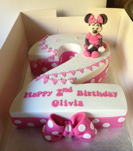 2 Year Old Birthday Cake Ideas