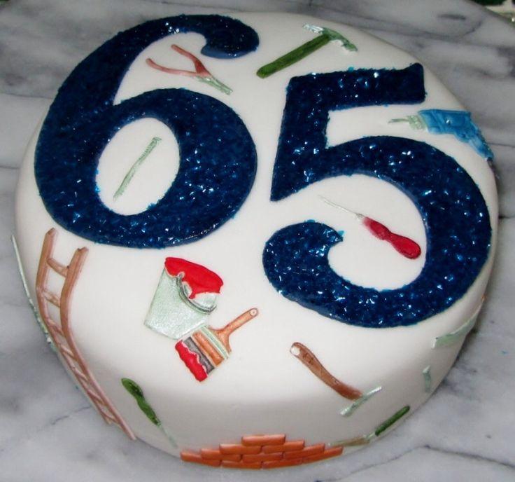 10 65th Birthday Cakes For Birthdays Photo
