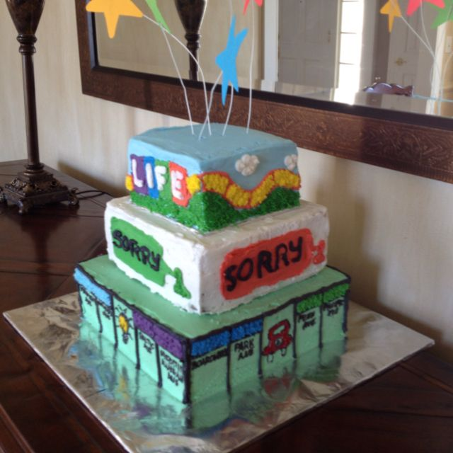 11 Board Games That Look Like Cakes Photo Board Game Birthday Cake