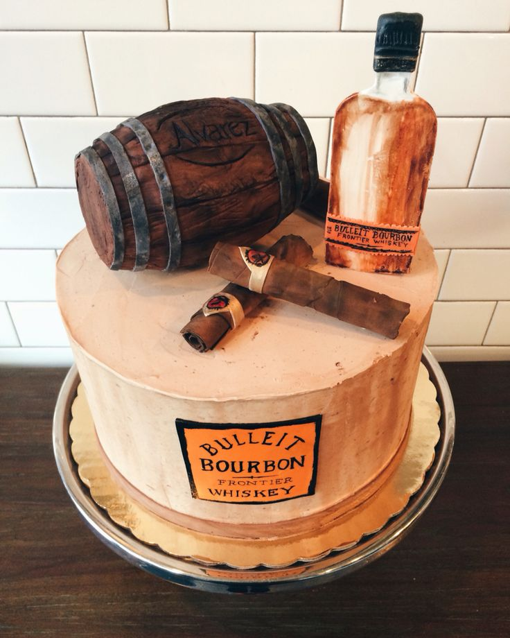 10 Unique Birthday Cakes For Men Cigars Photo - Cigar Box Cake ...
