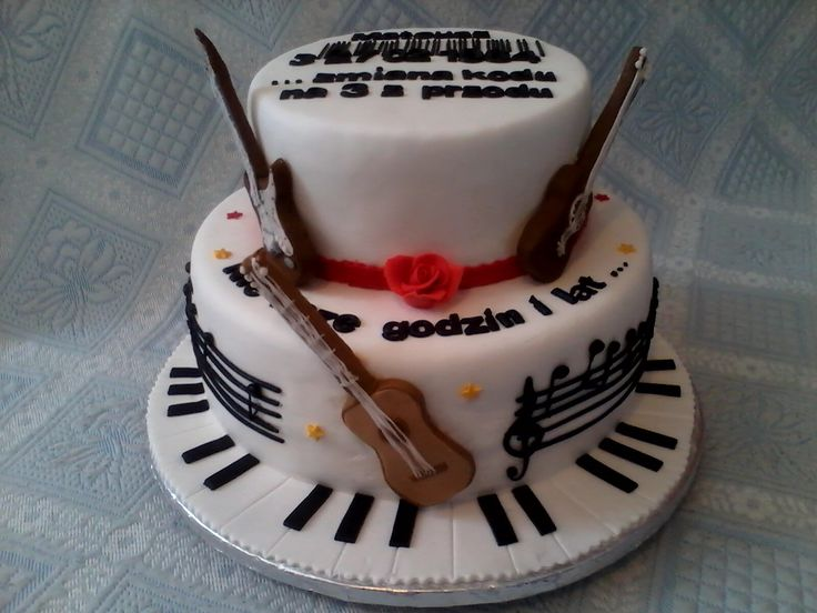 Brilliant 11 Guitar Birthday Cakes For Boys Photo Electric Guitar Birthday Personalised Birthday Cards Akebfashionlily Jamesorg