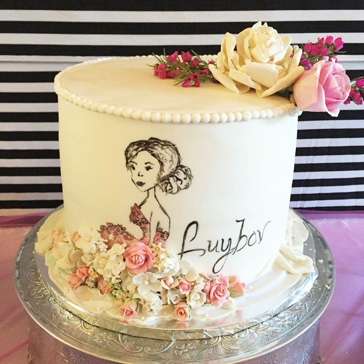 10 Elegant Birthday Cakes For Women In Dallas Texas Photo Elegant
