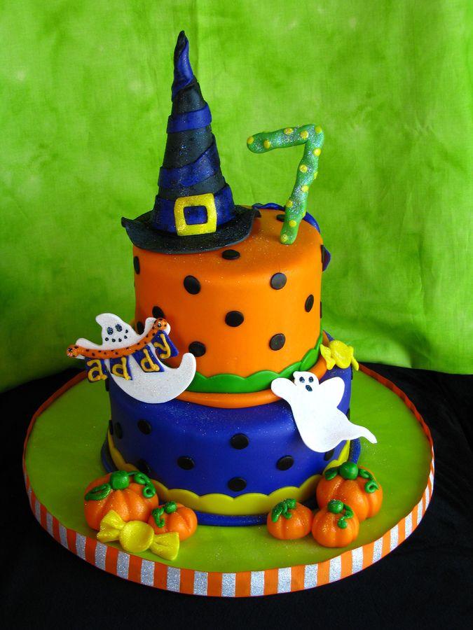 Tremendous 11 Halloween Bday Cakes Pinterest Photo Halloween Birthday Cakes Personalised Birthday Cards Veneteletsinfo