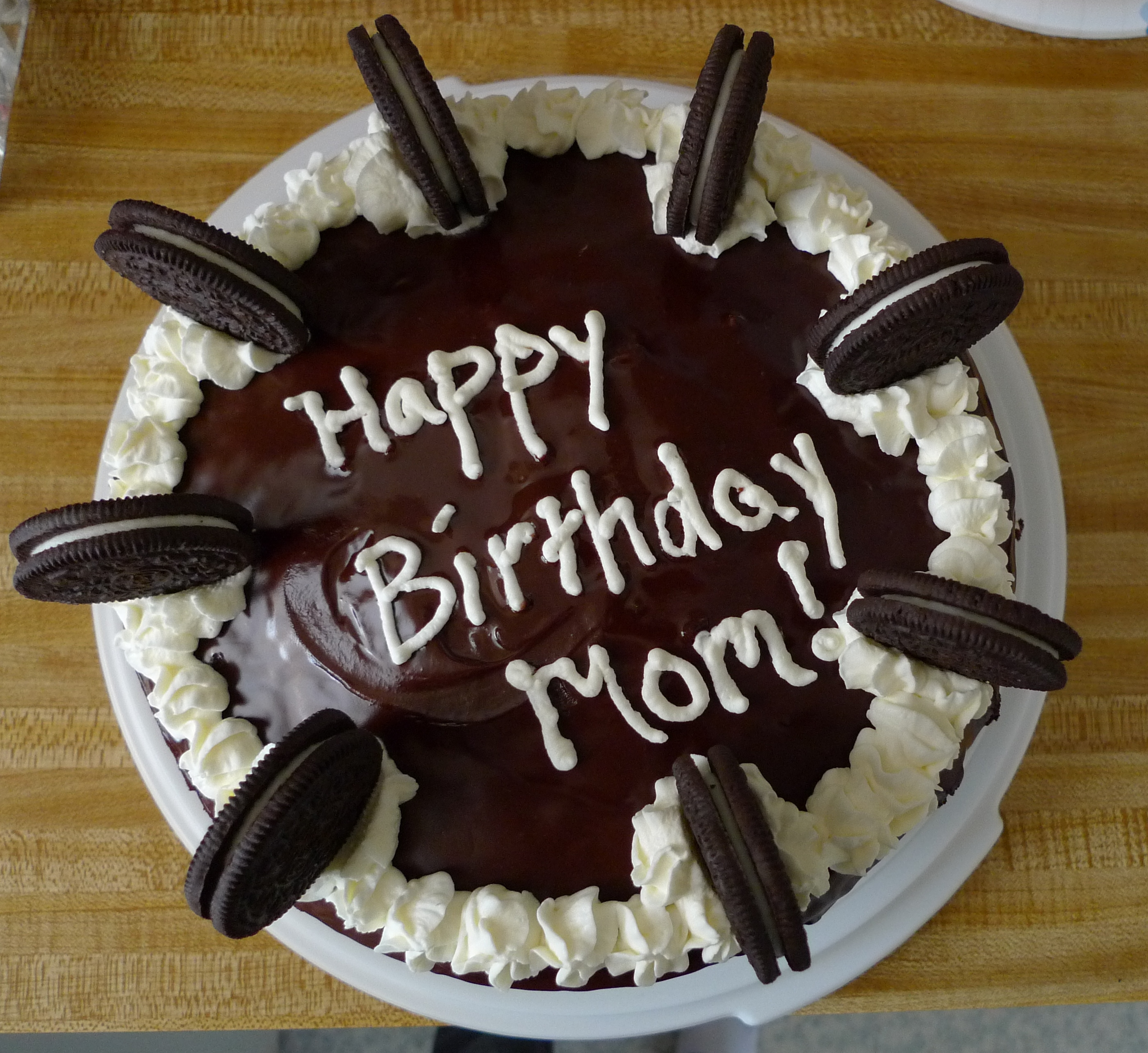 10 Mom Happy Birthday Beautiful Cakes Photo Happy Birthday Mom