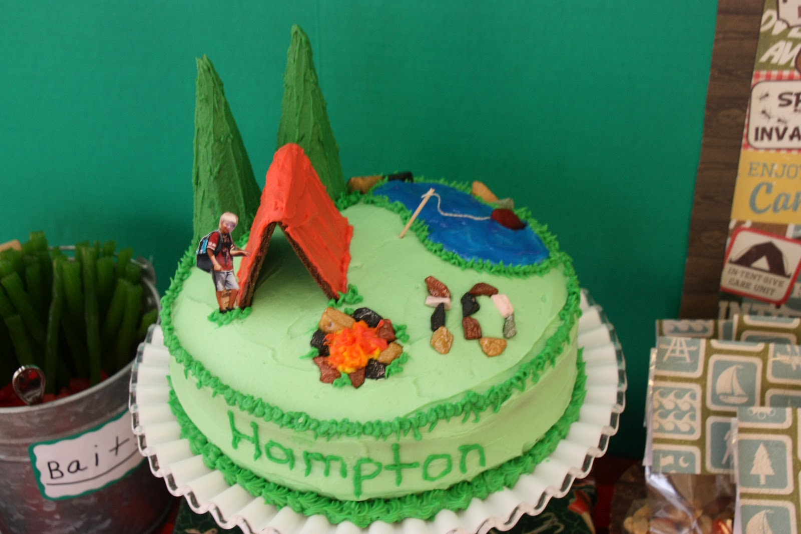 11 Outdoor Themed Birthday Cakes Photo Great Outdoors Birthday