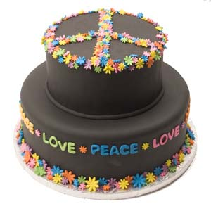 Magnificent 7 Peace Love Birthday Cakes Photo Bowling Birthday Cake Rock Personalised Birthday Cards Cominlily Jamesorg