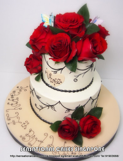 7 Elegant Birthday Cakes For Vivian Photo Elegant Birthday Cake