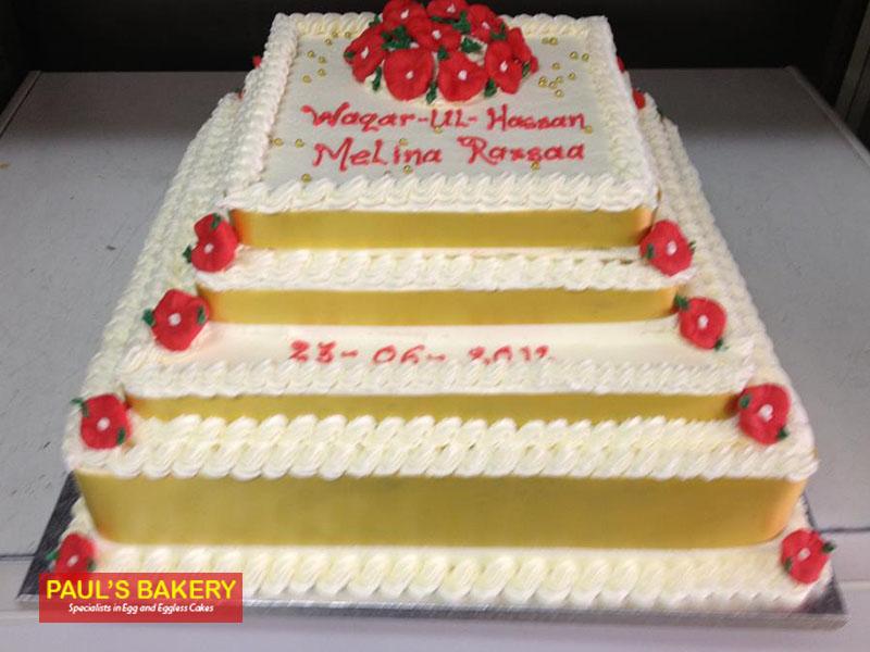 7 Wedding Cakes That Serve 150 Photo - 150 People Wedding Cake ...