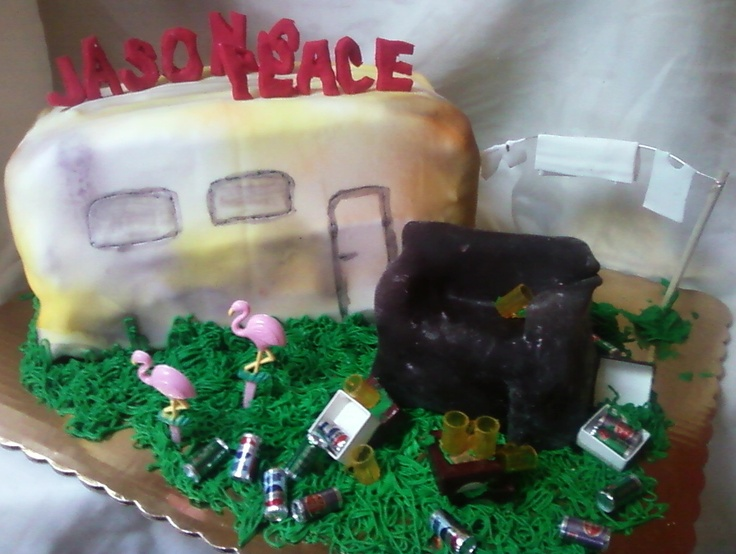 white trash wedding cake 12 hillbilly decorated cakes photo wedding cake 27327