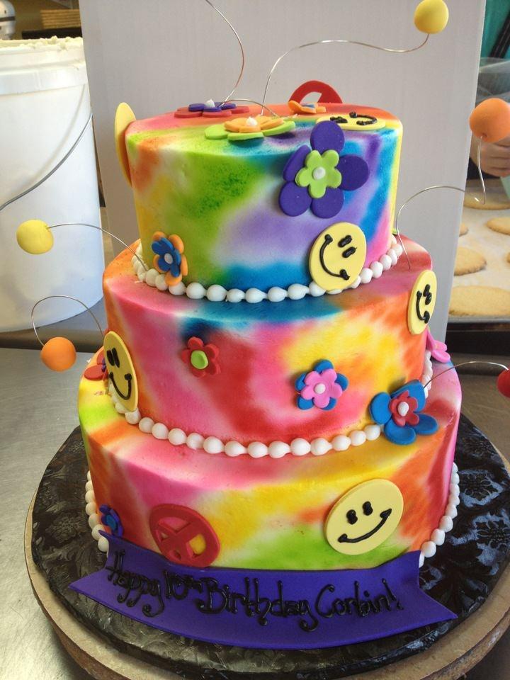 Strange 5 Birthday Cakes Little Rock Ar Photo 3 Tier Tie Dye Birthday Funny Birthday Cards Online Benoljebrpdamsfinfo