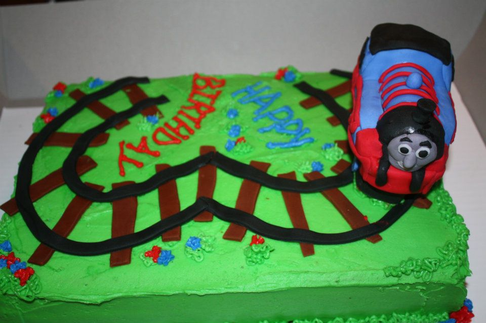 11 Homemade Birthday Cakes For 3 Year Old Boy Photo 10
