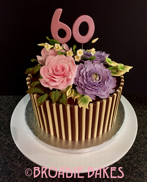 11 Gorgeous 60th Birthday Cakes Photo