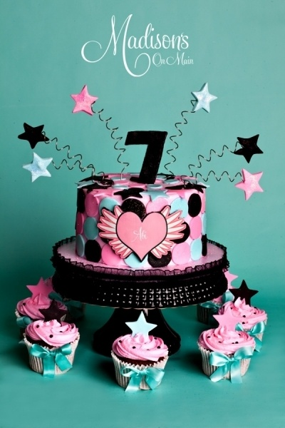 7 Year Old Girl Birthday Cake Ideas