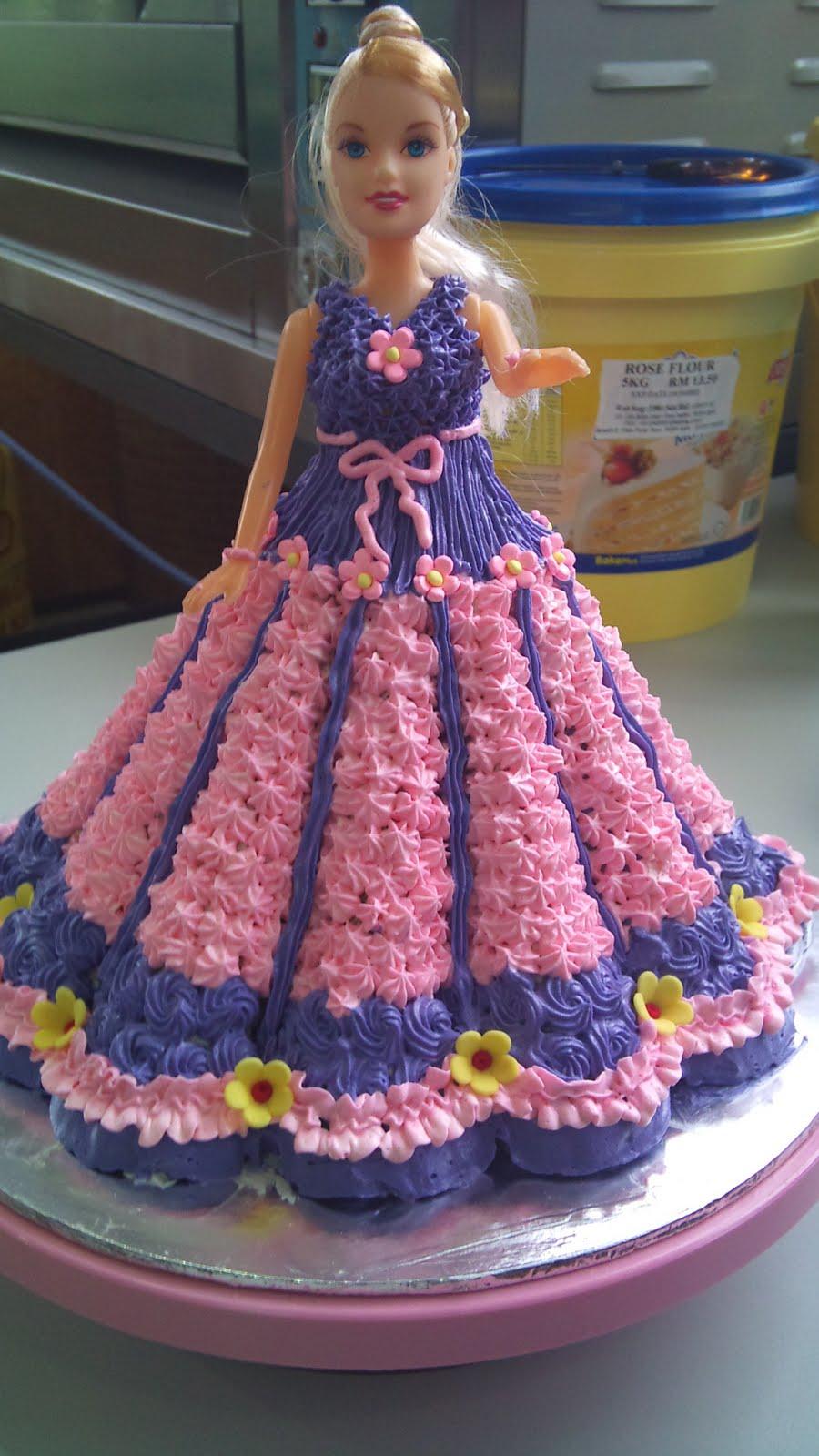 12 Doll Birthday Cakes For Girls Photo Girls Princess Birthday