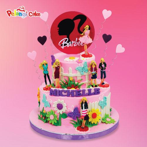 9 Birthday Cakes Barbie House Photo Barbie Dreamhouse Birthday
