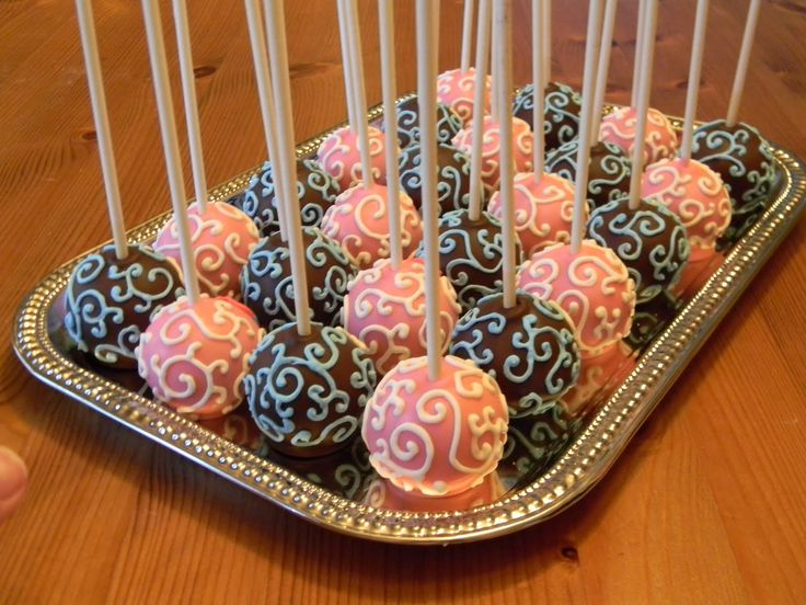 11 Cakes To Decorate Cake Pops Photo Baby Shower Cake Pops How To