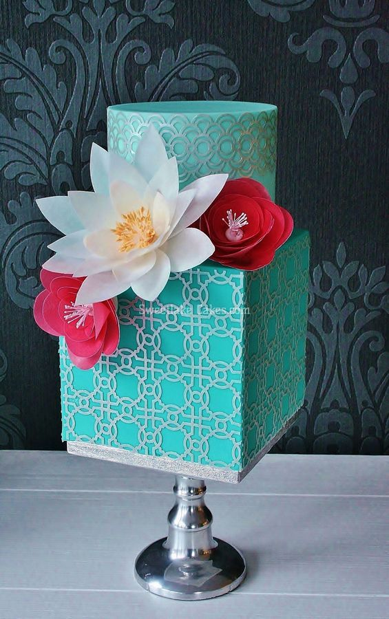 10 Wedding Decorations With Wafer Paper Cakes Photo Wafer Paper