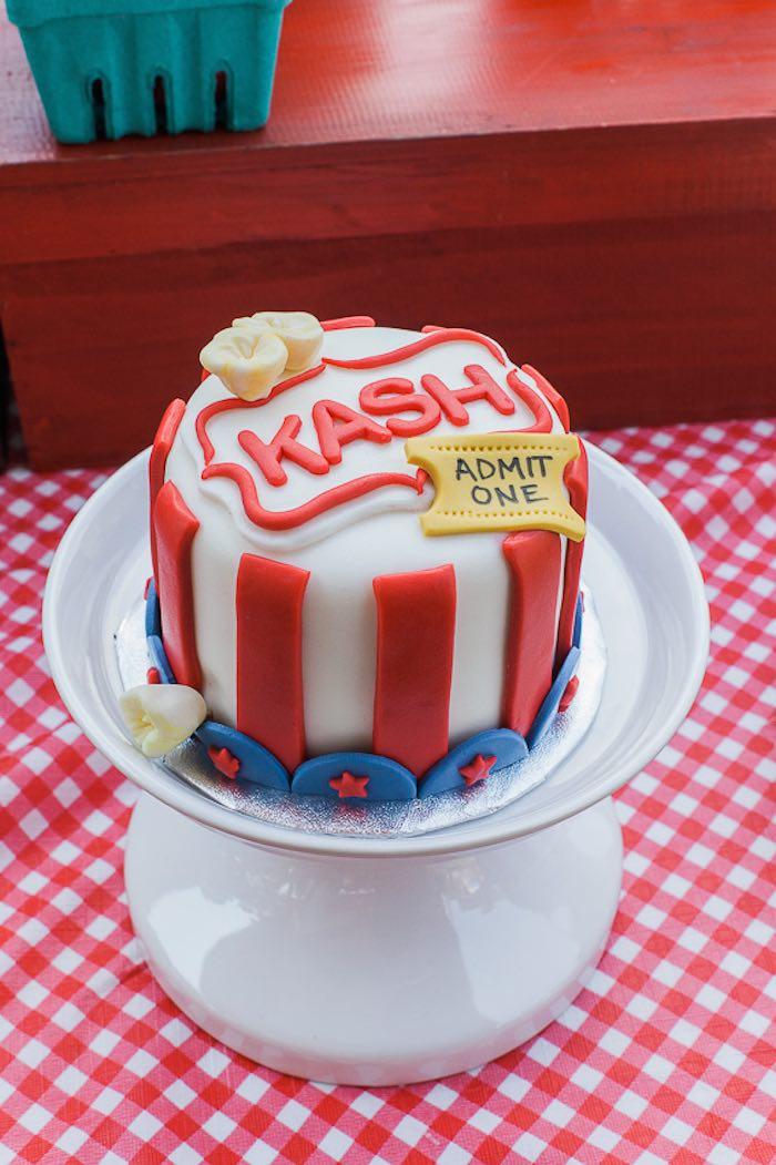 12 Simple Fair Themed Cakes Photo Carnival Themed Wedding Cake