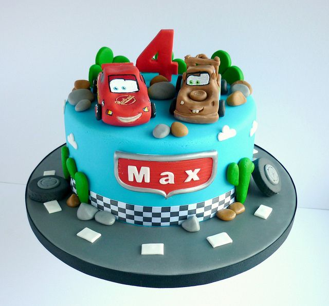 9 Mater Cars Themed Birthday Cakes Photo Cars Lightning Mcqueen