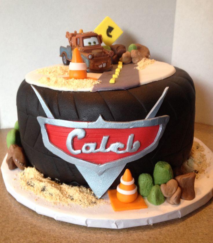 Groovy 9 Mater Cars Themed Birthday Cakes Photo Cars Lightning Mcqueen Funny Birthday Cards Online Kookostrdamsfinfo