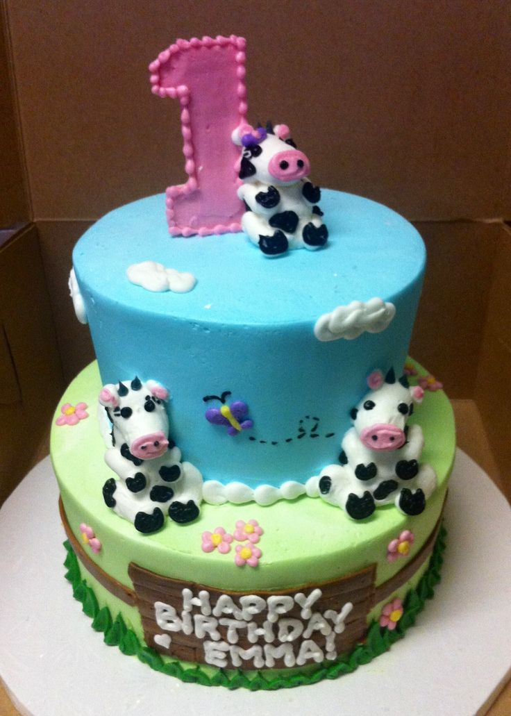 12 Cattle Birthday Cakes Photo Cow Birthday Cake Cow Birthday