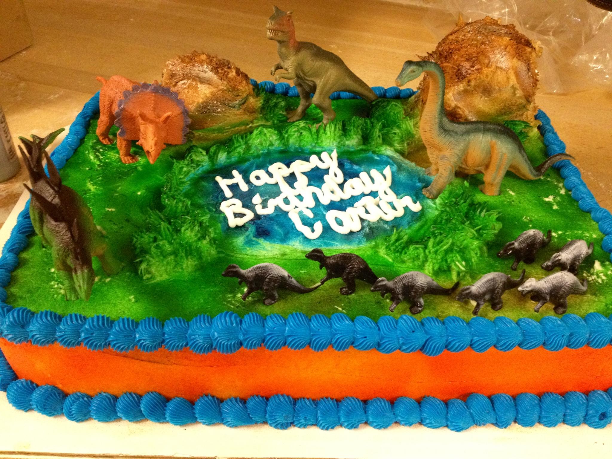 Dinosaur Birthday Cake Ideas