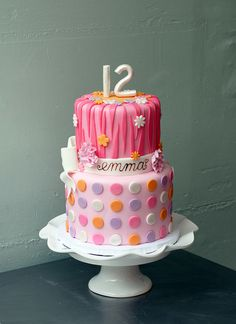Astonishing 10 Tiffany Birthday Cakes For Girls 12Th Birthday Photo Happy Funny Birthday Cards Online Overcheapnameinfo