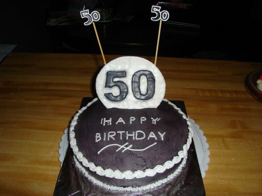 Happy 50th Birthday Cakes For Men
