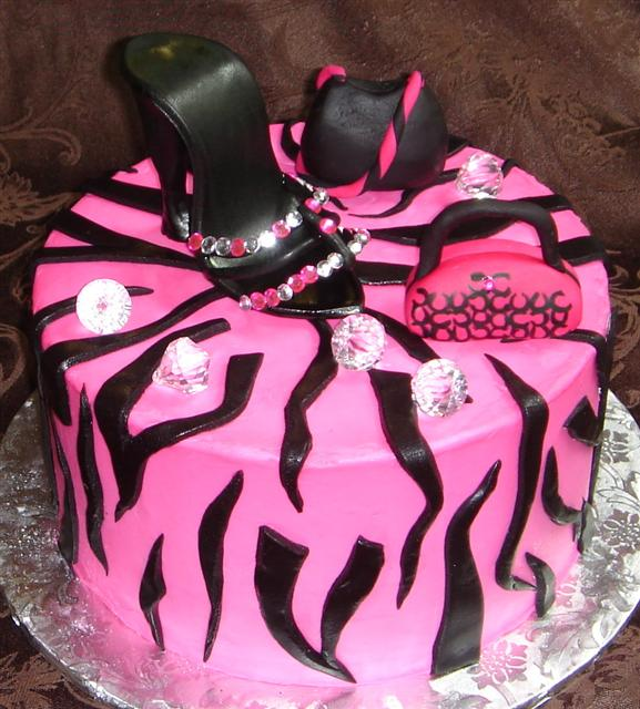 12 Awesome Birthday Cakes For Women Black Photo Awesome Birthday