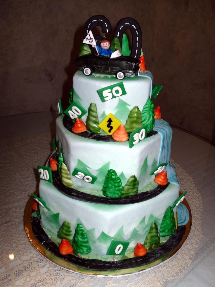Prime 11 Diy 50Th Birthday Cakes Photo 50Th Birthday Cake Homemade Funny Birthday Cards Online Inifodamsfinfo