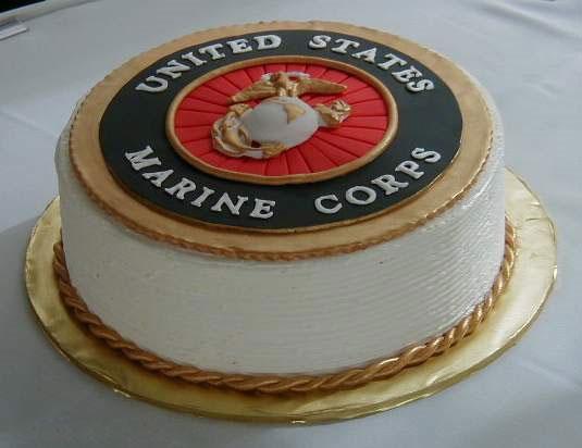 Phenomenal 11 U S Marine Corp Birthday Cakes Photo Marine Corps Birthday Birthday Cards Printable Trancafe Filternl