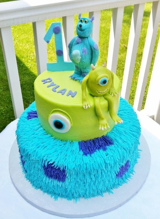 Terrific 6 Monster Inc University Cakes Photo Monsters Inc First Funny Birthday Cards Online Unhofree Goldxyz