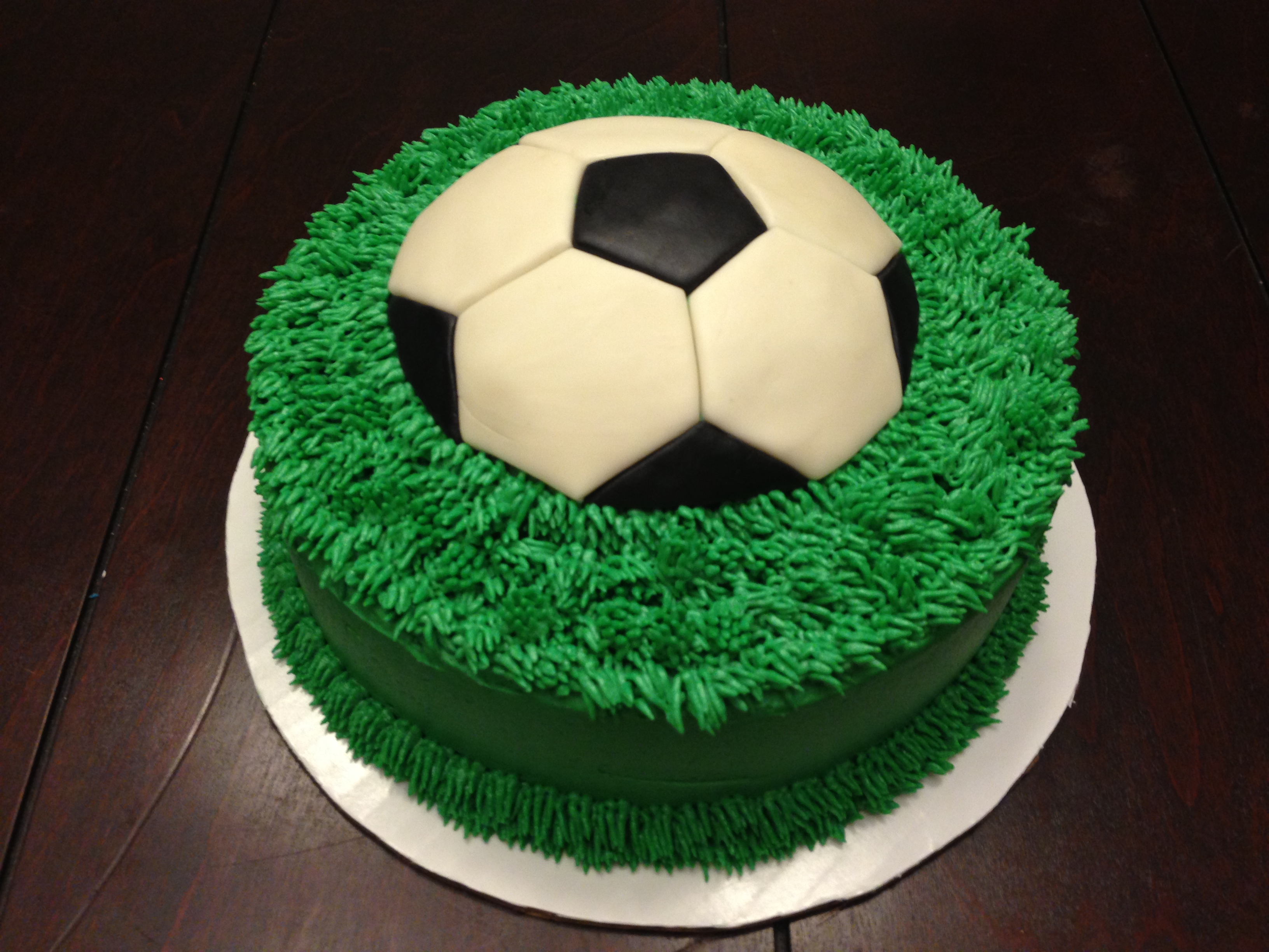 10 Soccer Birthday Cakes For Men Photo Football Birthday Cake