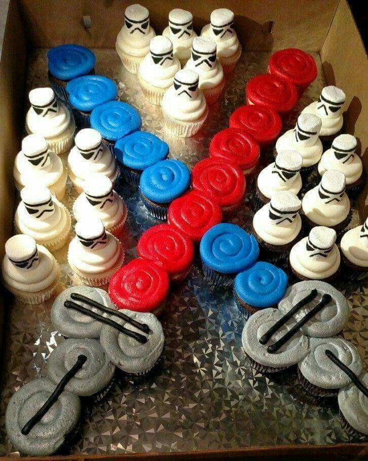 Star Wars Birthday Cake Cupcakes