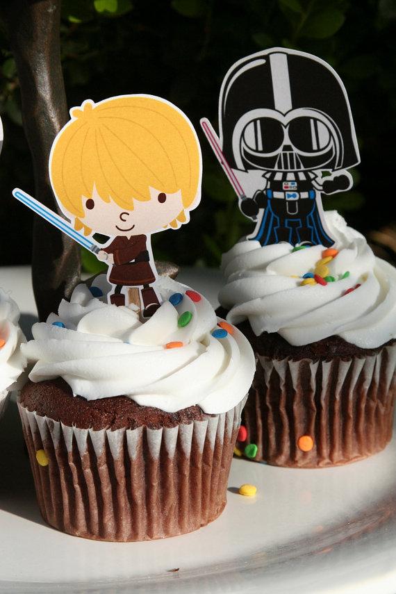 Star Wars Cupcake Topper Baby