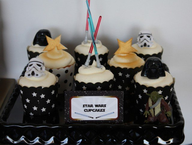 Star Wars Inspired Cupcakes