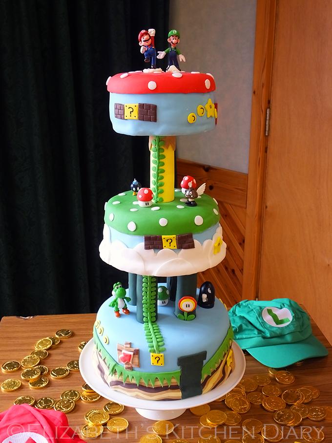 Superb 9 Super One Foods Birthday Cakes Photo Super Mario Birthday Personalised Birthday Cards Veneteletsinfo