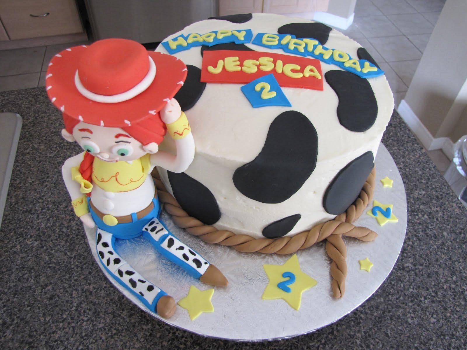 12 Toy Story Cakes Jessie Cowgirls Photo Toy Story Jessie Cake
