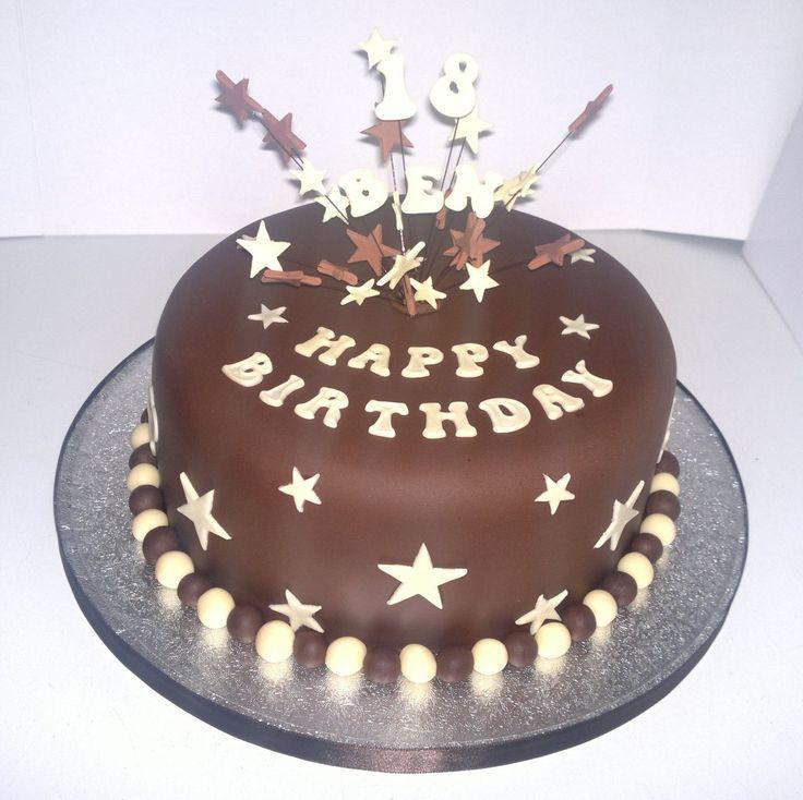 Chocolate Birthday Cake Ideas For Men
