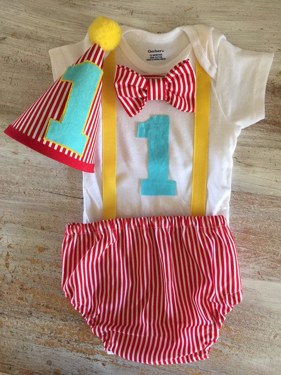 Circus First Birthday Outfit