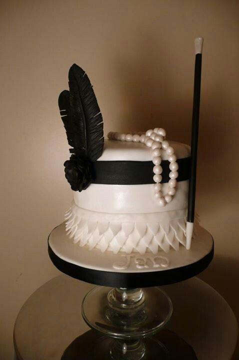 12 Great Gatsby Themed Cakes Photo Great Gatsby Wedding Cake