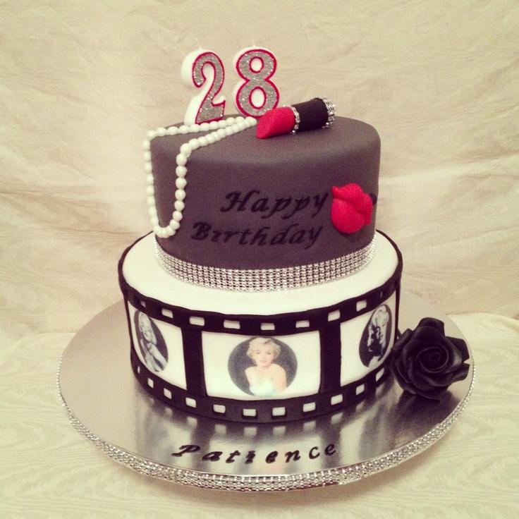 Cool 12 Marilyn Monroe Fondant Cupcakes Photo Marilyn Monroe Birthday Personalised Birthday Cards Paralily Jamesorg