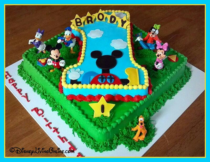 Stupendous 10 Mickey Mouse Clubhouse Birthday Sheet Cakes Designs Photo Personalised Birthday Cards Veneteletsinfo