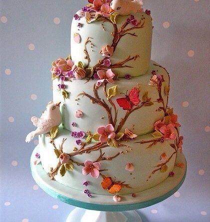 10 Unique Wedding Cakes Nature Photo Nature Themed Wedding Cake