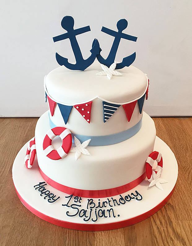 Marvelous 11 Nautical Adult Birthday Cakes For Photo Sailing Boat Birthday Personalised Birthday Cards Veneteletsinfo