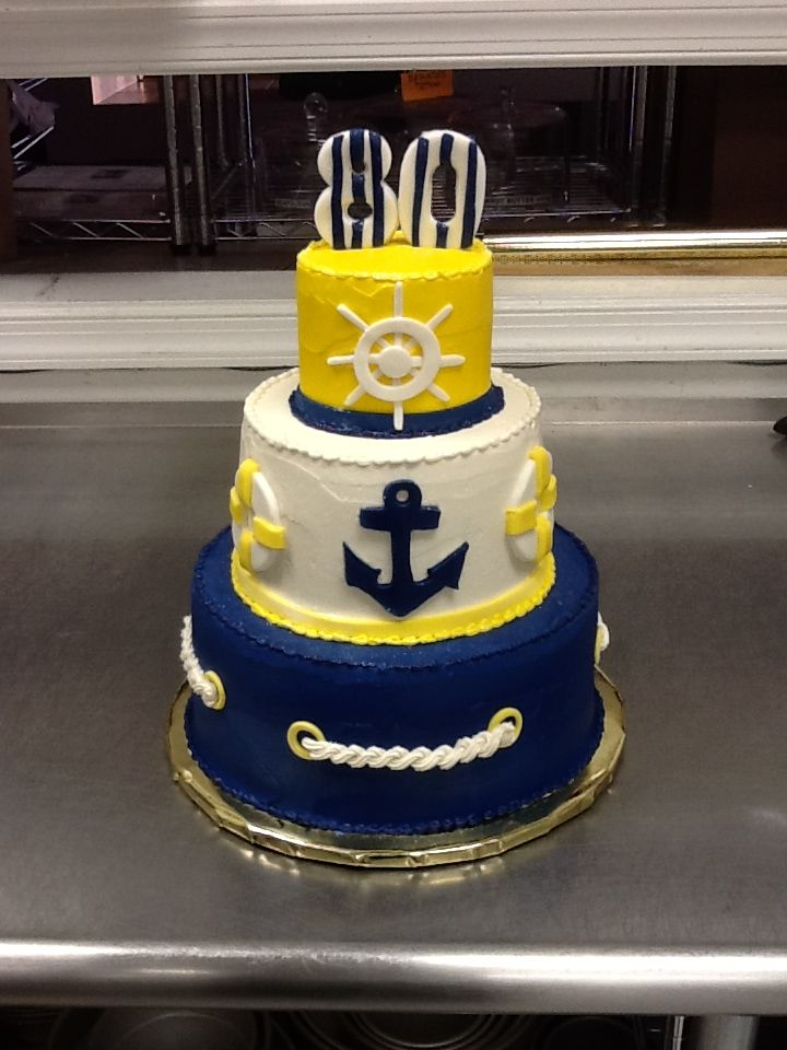 Outstanding 11 Nautical Adult Birthday Cakes For Photo Sailing Boat Birthday Funny Birthday Cards Online Inifofree Goldxyz