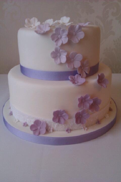 Attractive 3 Tier Wedding Cakes Beautiful Tier Celebratory Nurse