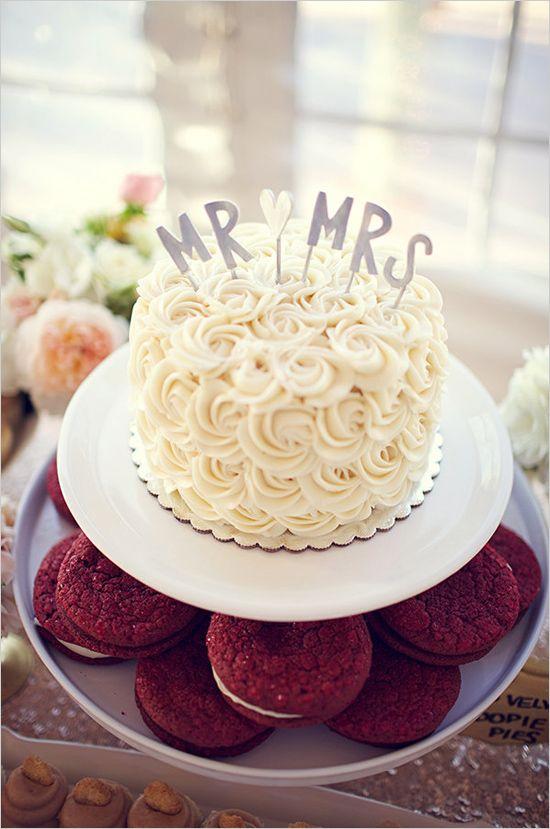 11 Bridal Small Cakes Photo Small Wedding Cake Small Wedding Cake